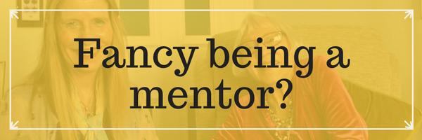Fancy being a volunteer mentor?