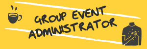 Group Event Administrator Volunteer