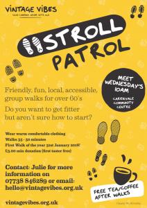 Stroll Patrol Vintage Vibes Walking Group