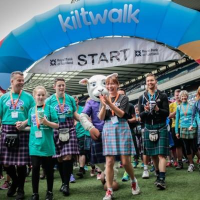 KiltWalk Edinburgh Charity 2018