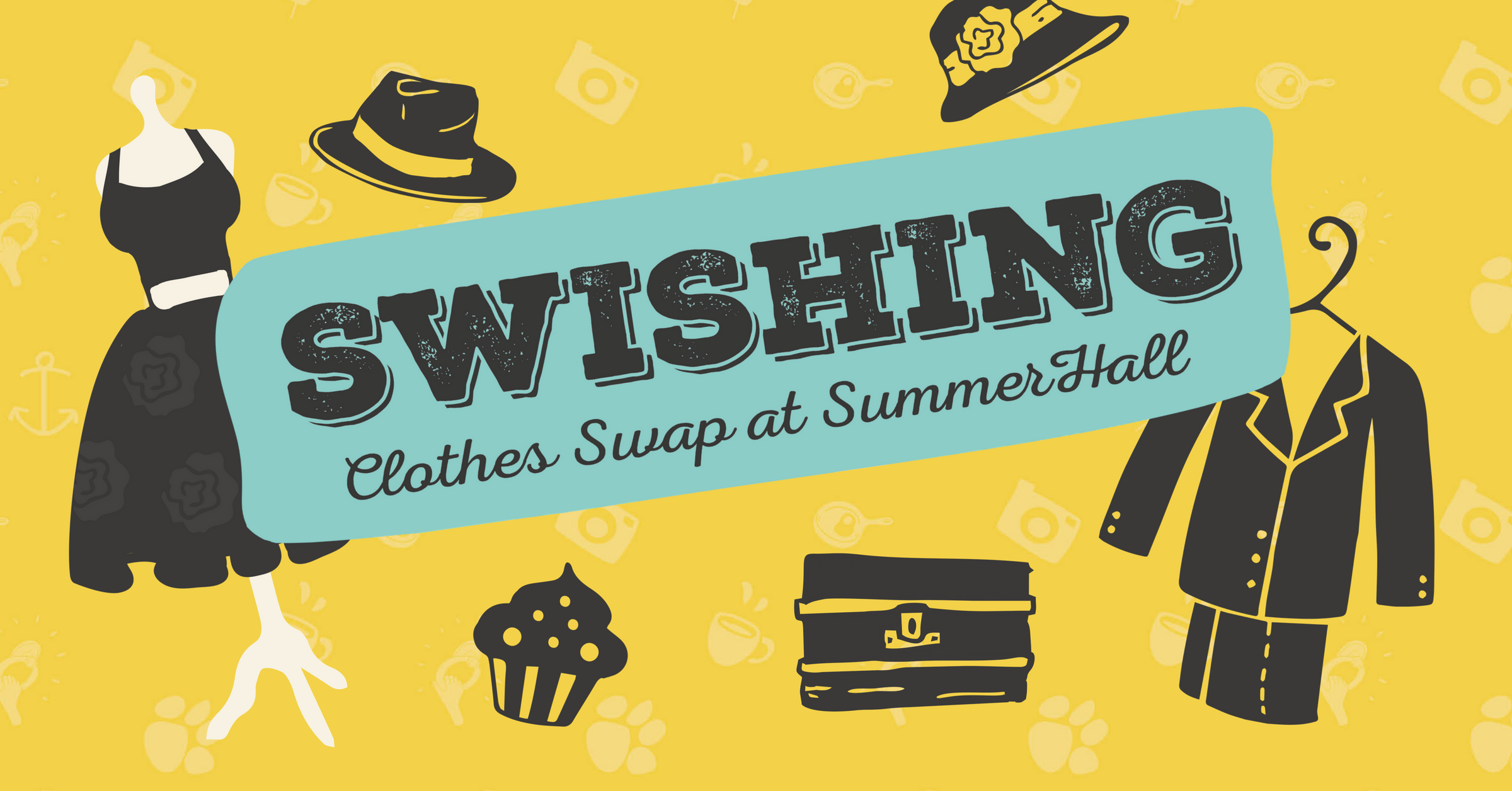 Join Us - Swishing Clothes Swap at Summerhall - Vintage Vibes