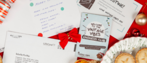 Vintage Vibes Christmas Card Campaign 2019