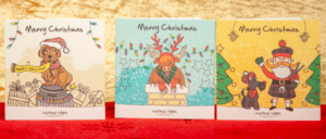 Vintage Vibes Christmas cards designs