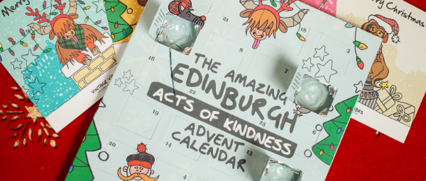 Vintage Vibes Chocolate Acts of Kindness Advent Calendar_1