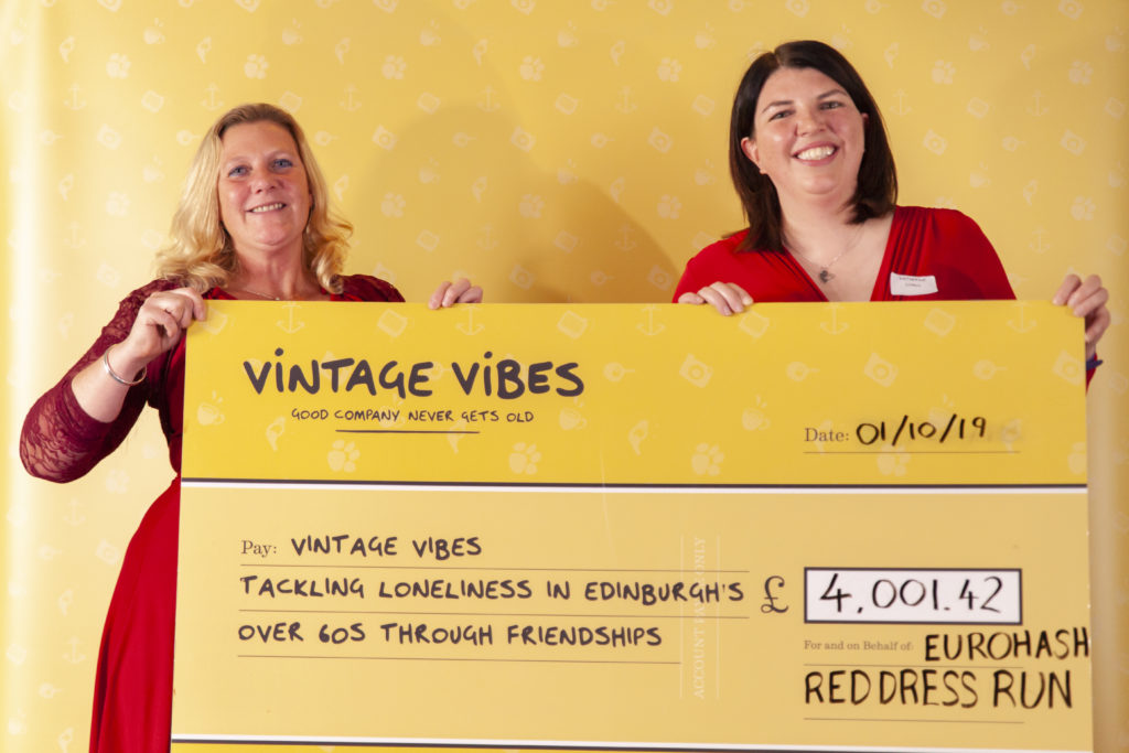 Four thousand pounds raised for Vintage Vibes