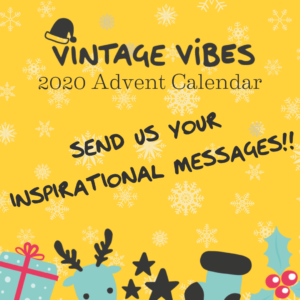 Vintage Vibes Advent Calendar 2020 - sqaure