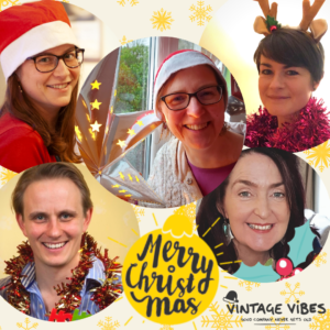 Christmas 2020 - Merry Christmas from Vintage Vibes